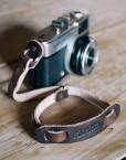 Leather camera Straps correa de cuero pequeña para cámara de fotos vintage olympus handmade in spain