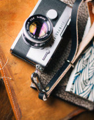 Lúcida leather Camera Straps leica olympus pen ft correa cuero vintage