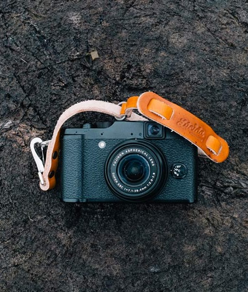 fujifilm x20 leather camera strap correa cuero pequeña